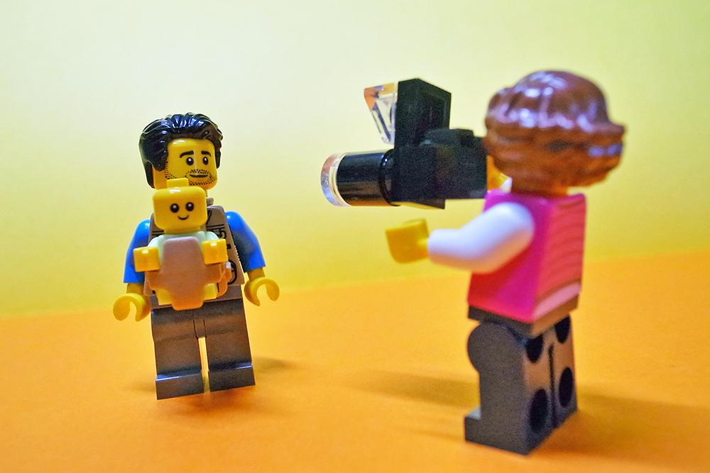 LEGO minifigure レゴ ミニフィグ 親子