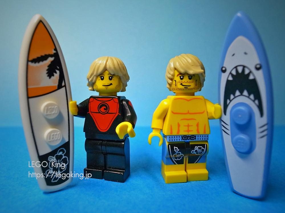 LEGO イケメンサーファー minifigure series surfer
