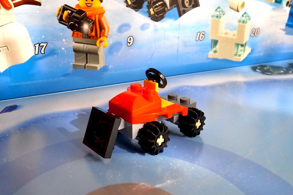 LEGO アドベントカレンダー 除雪車