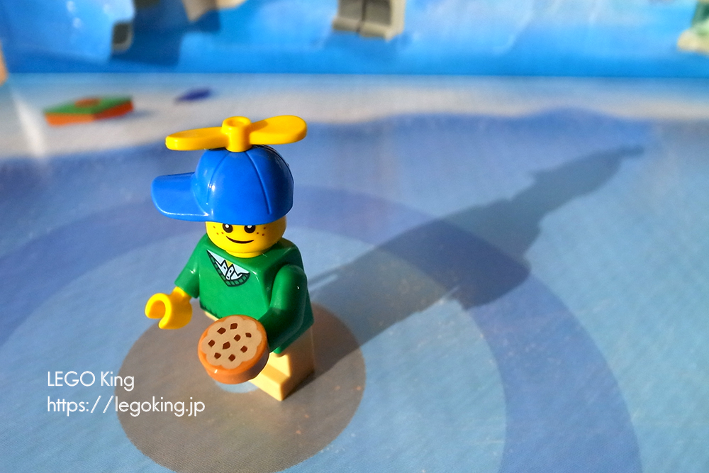 """7日目の「レゴ アドベントカレンダー2019」は""""そばかす太郎くん"""""""