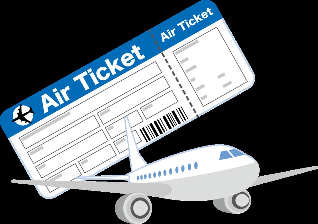 飛行機 チケット