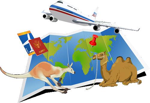 飛行機 地図 旅行