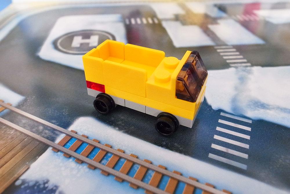 レゴ アドベントカレンダー 2020 トラック