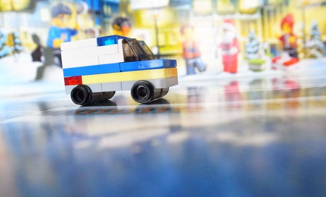 レゴシティ アドベントカレンダー パトカー