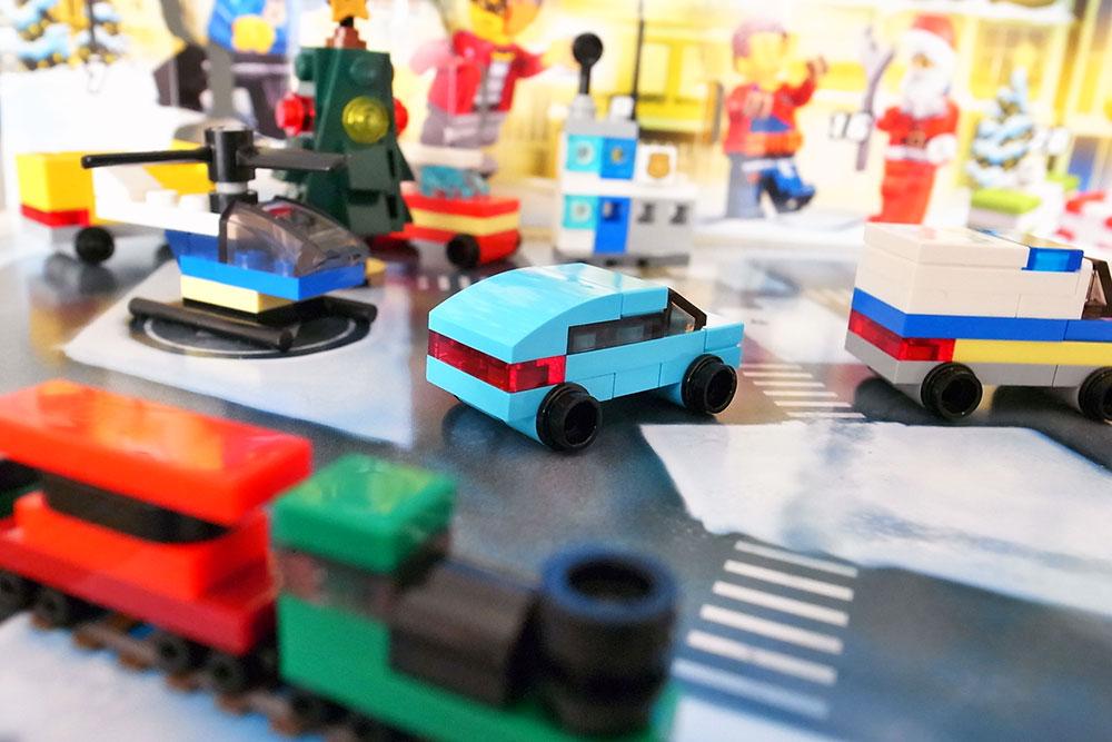レゴシティ アドベントカレンダー 車 乗用車