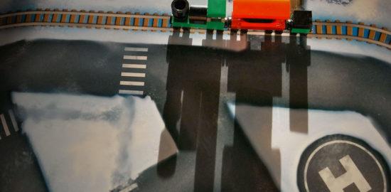 レゴシティ アドベントカレンダー 蒸気機関車 トレイン 電車
