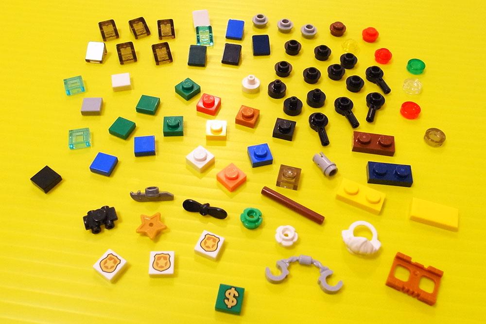 レゴシティ アドベントカレンダー スペアパーツ