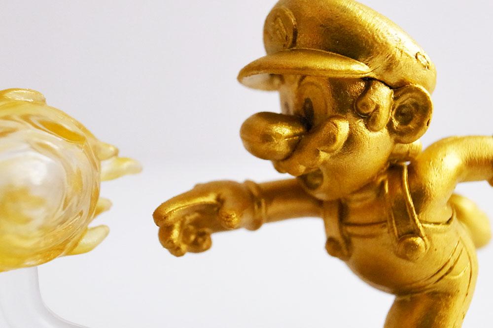 チョコエッグ】スーパーマリオ 金色 ゴールド