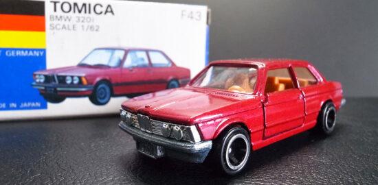 トミカ 青箱 BMW 320i 日本製 ミニカー