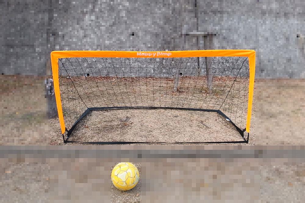 折りたたみ式 サッカーゴール 公園 子ども用