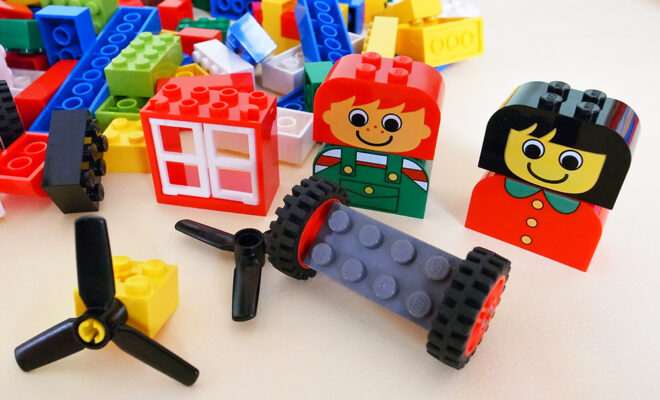 3~4才に最適♪ レゴ (LEGO) 基本セット 赤いバケツ 7616