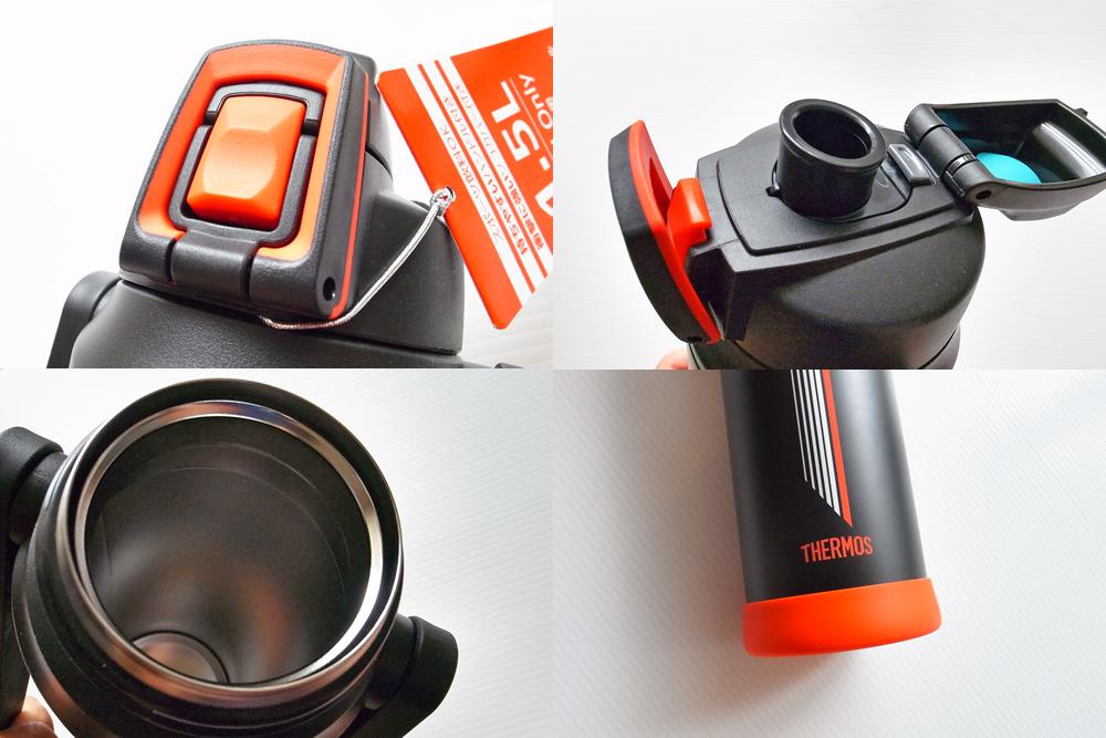 サーモス(THREMOS) 真空断熱スポーツボトル 1.5L 特徴