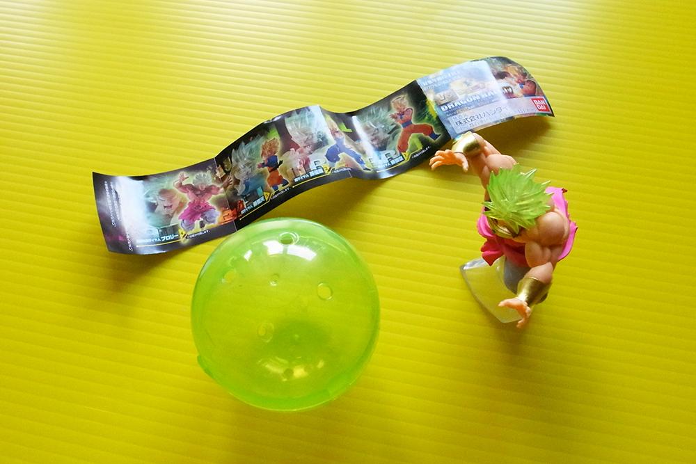 ガチャ ドラゴンボールのフィギュア ブロリー レビュー