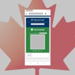 カナダ コロナワクチン接種 証明QRコード